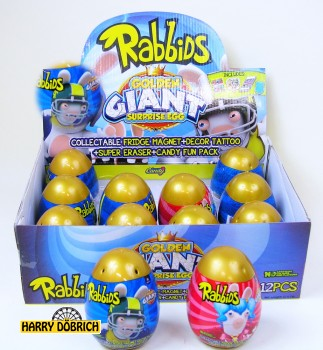 Surprise Egg Golden Rabbids 12 Stück