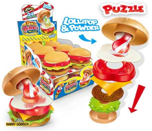 Johny Bee Burger Dip&Lick 21gr 12 Stück