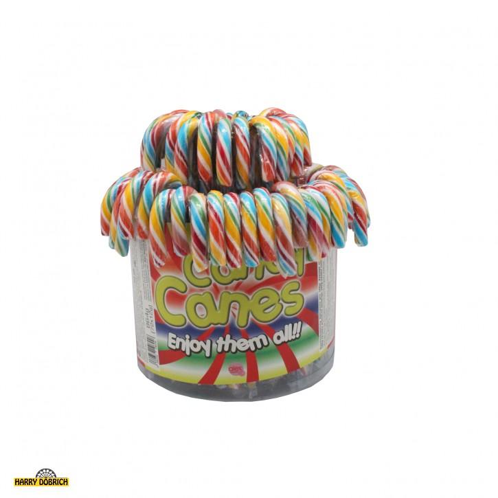 Zuckerstange Cane Regenbogen 12gr 72 Stück