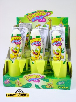 Candy Spray Banana 9x50ml