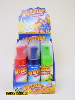 Candy Schaumspray Fire Blaster 12 Stück