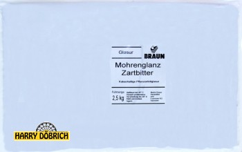 Fettglasur Mohrenglanz Zartbitter per kg