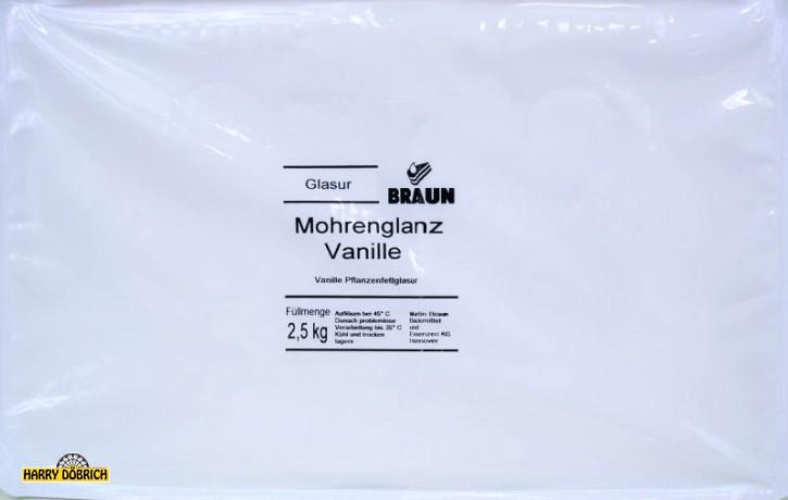 Fettglasur Mohrenglanz Vanille kg