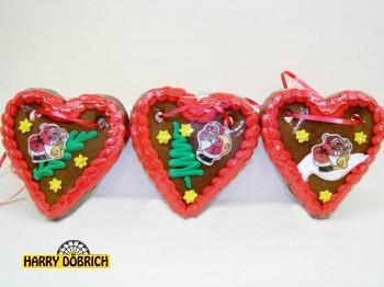 Lebkuchen Weihnachtsherz Oblate 70gr