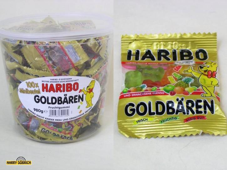 Minibeutel Haribo Goldbären 100 Stück