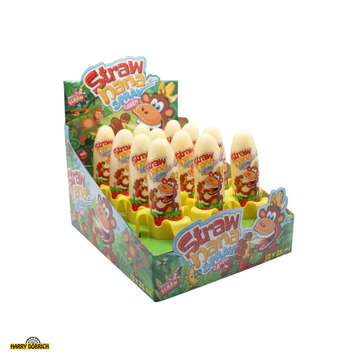 Candy Spray Strawnana 12x25ml