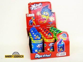 Dips 4fun Worms 24gr 12 Stück