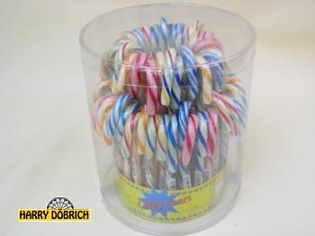 Zuckerstange Candy Cane sort. 72 Stück