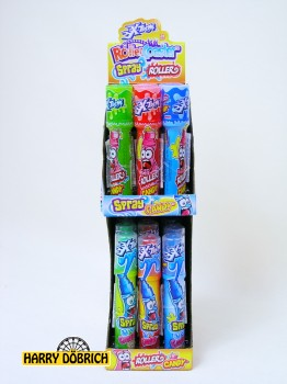 Rollercoaster Candy Spray&Roller 24 Stück
