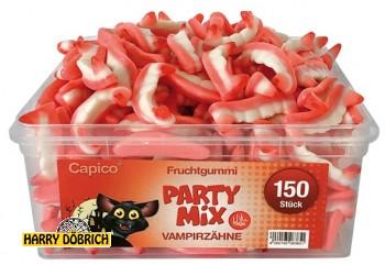 Fruchtgummi Dracula Zähne 150 Stück in Box