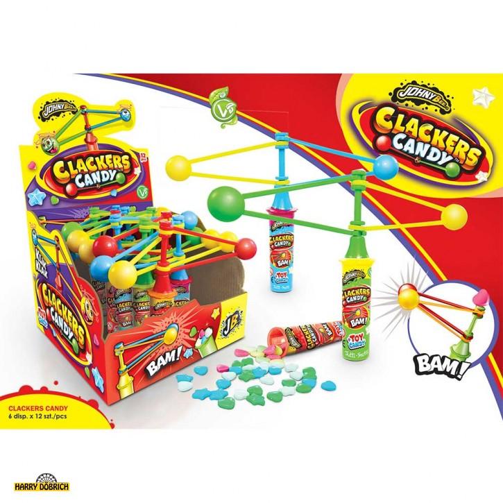 Johny Bee Clackers Candy 12 Stück