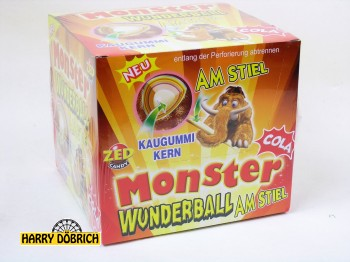 Monster Wunderball am Stiel Cola 15x80gr