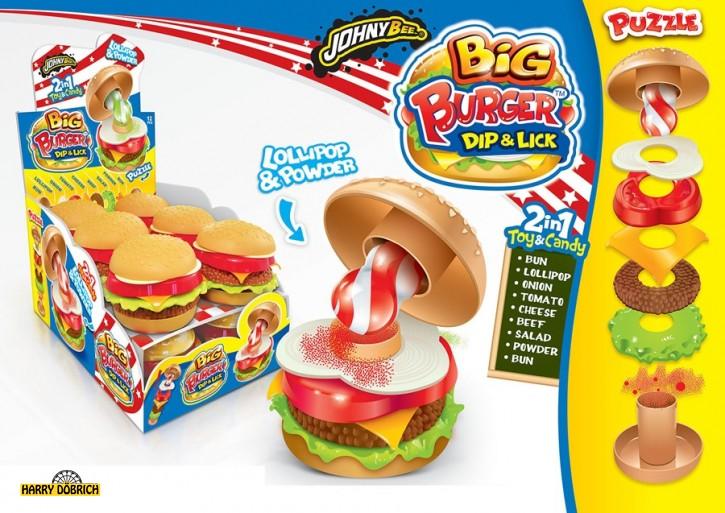 Johny Bee Big Burger 12x21gr