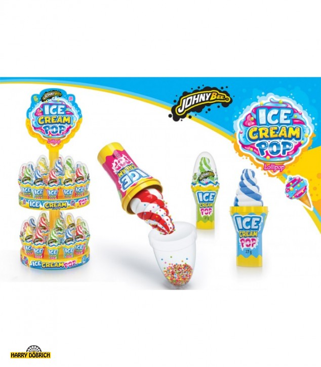 Ice Cream Pop Lolli 34x27gr