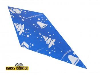 Spitztüten 125gr Weihnachten blau 1000 Stück