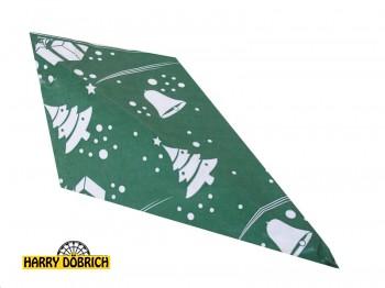 Spitztüten 125gr Weihnachten grün 1000 Stück