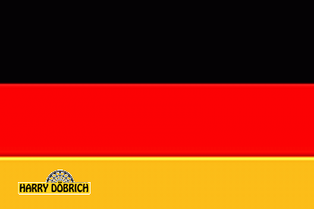 Fahne Deutschland 90x150cm mit 2 Ösen