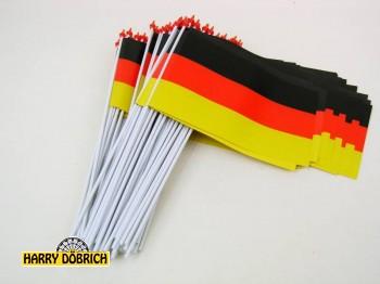 Fähnchen Deutschland 15x10cm
