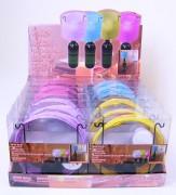 Flaschenlaterne LED 4 Farben sortiert