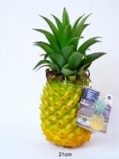 Ananas mit Led Beleuchtung 21cm