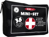 Erste Hilfe Set 38tlg in Tasche schwarz