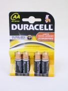 Batterie Duracell AA 4er