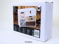 Schubladenbox Holz 30x23,5x10cm