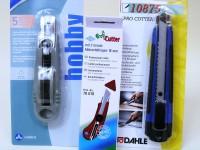 Hobbymesser 18mm Abbrechklinge sortiert