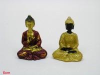 Poly. Buddha sitzend 6cm