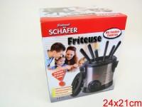 Fondue/Friteuse 1ltr 1000W