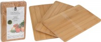 Brotzeitbrettchen Holz 3er Set
