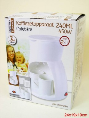 Kaffeemaschine incl. 2 Becher