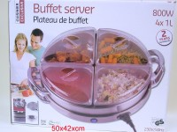 Speisenwärmer Buffet 4x1ltr 800W