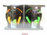 Kopfhörer Grundig neon 4-fach sortiert