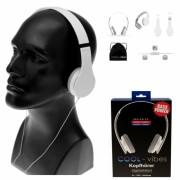 Kopfhörer Cool Vibes mit Mikro weiß