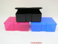 Brotbox 13,5x18x6cm schwarz