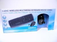 Tastaturset mit Maus Wireless 2.4 Ghz Grundig
