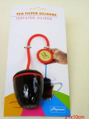 Tee-Filterei Silkonband bunt
