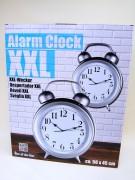 Uhr Wecker 45x56x15cm verschiedene Farben sortiert