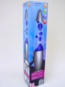 Lavalampe 34cm blau