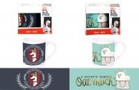 Kaffeebecher Pets 2fach