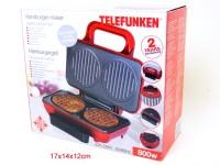Hamburger Maker Duo 800W Telefunken