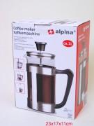 Kaffeebereiter 1.0l Alpina
