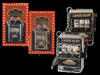 SK-Spielautomat sortiert auf Karte geblistert