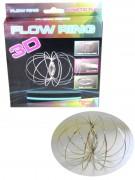 Flow Ring 3D Skulpturring Neuheit