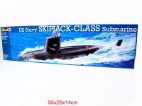 Revell Bausatz US Navy Skipjack U-Boot 1:72