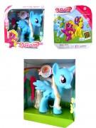 Pony mit Kamm in Box 28x25cm