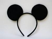 Haarreif mit Mäuseohren
