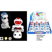 Roboter 14cm Licht/Sound 2- Farben sortiert