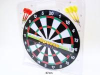 Dartspiel 37cm 6 Pfeile